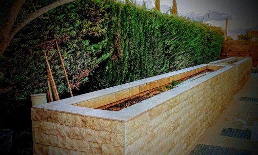 Création de jardinière en agglomération à Toulon