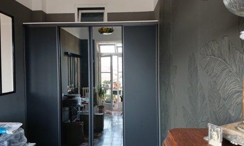 Création d'un bureau avec verrière murale et dressing sur mesure Toulon